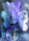 Fiori in vaso. Verniciatura degli acquerelli Fotografia Stock Libera da Diritti