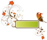 Fiorisca il blocco per grafici Fotografie Stock
