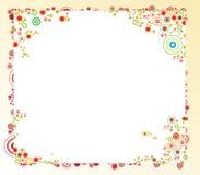 Fiorisca il blocco per grafici Immagini Stock