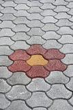 Fiorisca la pavimentazione Fotografia Stock Libera da Diritti