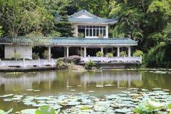 Fiorisce il corridoio del giardino botanico di wanshi Fotografia Stock Libera da Diritti