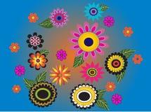 Fiorisce multicolore Fotografia Stock Libera da Diritti
