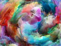 Fioritura di colore illustrazione di stock