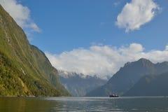 Fiorland Nya Zeeland Arkivfoto