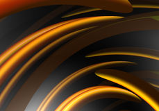 Fios 01 da laranja Fotografia de Stock Royalty Free