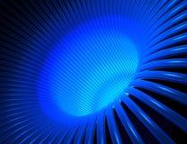 Fios azuis Imagens de Stock