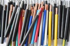 Fios coloridos da bainha imagem de stock