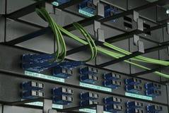 Fios do computador Fotografia de Stock