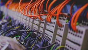 Fios do PLC imagens de stock