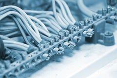 Fios elétricos Foto de Stock