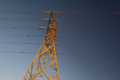 Fios elétricos fotografia de stock