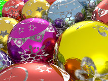 Fir balls Stock Image