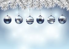 Christmas holiday illustration Royalty Free Stock Images