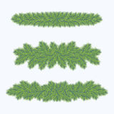 Fir decoration Royalty Free Stock Photography