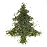 Fir needle christmas tree Stock Photo