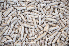 Fir pellets Royalty Free Stock Image
