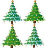 Fir-tree рождества. бесплатная иллюстрация