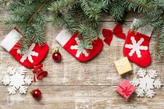 Christmas backgrounds 2018 Royalty Free Stock Images