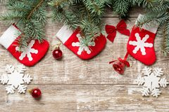Christmas backgrounds 2018 Royalty Free Stock Photography