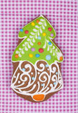 Fir tree Gingerbread Royalty Free Stock Images