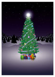 Christmas Firtree Royalty Free Stock Photos