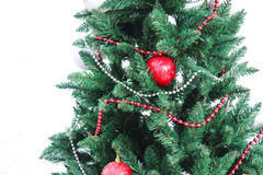 Fir-tree in New year Stock Photo