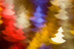 Fir trees shape photo as background Stock Images