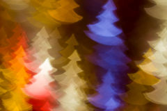 Fir trees shape photo as background Stock Photography