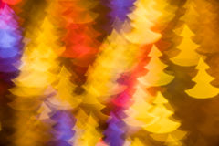 Fir trees shape photo as background Stock Photo
