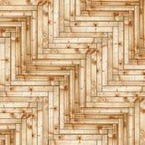 Fir wood parquet design Stock Photography