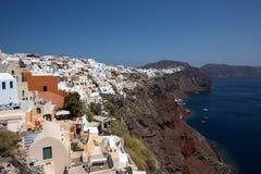 Fira, Santorini 免版税库存照片