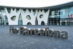 Fira Βαρκελώνη στοκ εικόνες