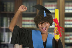 fira avläggande av examen Royaltyfria Foton