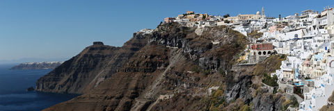 Fira , Santorini , Greece Stock Images