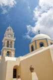 Fira catholic cathedral 03 Stock Images