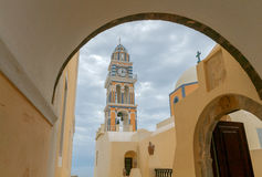 Fira. Catholic Church. Stock Images