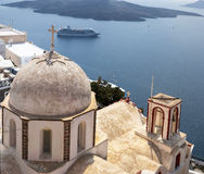 Fira church 05 Royalty Free Stock Image