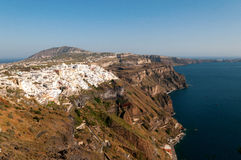 Fira city Royalty Free Stock Photography