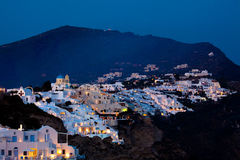 Fira Cityscape Stock Photography