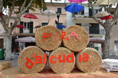 Fira d'Alcudia Stock Photo