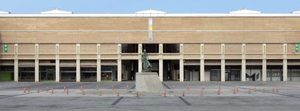 Fira de Barcelona conference center Stock Images