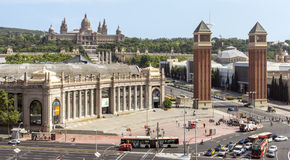 Fira de Barcelona conference center Royalty Free Stock Image