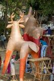 Fira det kommande Bengali nya året Royaltyfri Foto