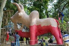 Fira det kommande Bengali nya året Royaltyfri Fotografi