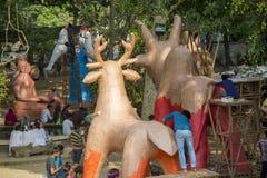 Fira det kommande Bengali nya året Arkivfoto