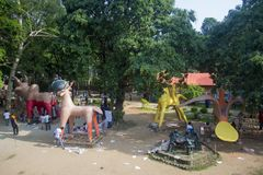 Fira det kommande Bengali nya året Arkivbilder