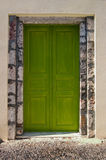 Fira Doorway. Stock Image