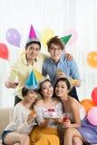 fira för födelsedag Arkivfoton