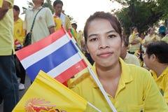 Fira fader dag @ 5 December 2012_Thailand Royaltyfri Fotografi