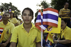 Fira fader dag @ 5 December 2012_Thailand Arkivbild